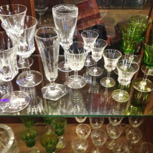 glassware and crystal Val Saint Lambert